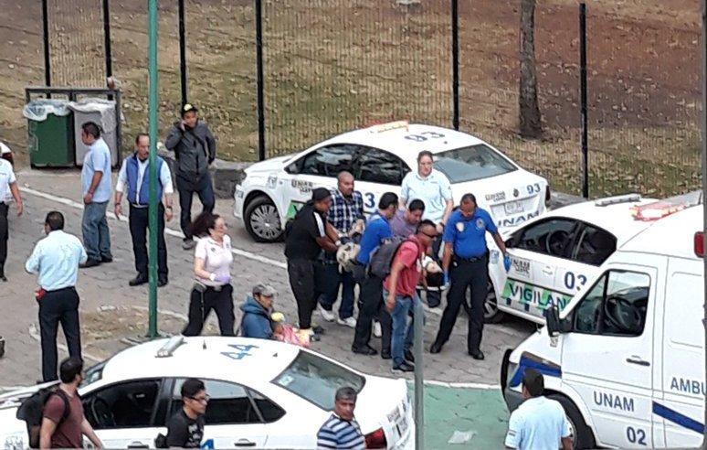 Balacera en Ciudad Universitaria; reportan dos heridos