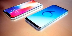 Relacionada iphone x galaxy 9