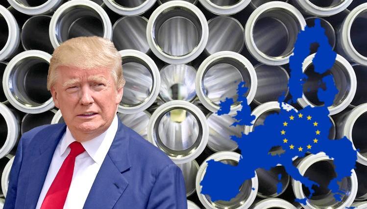 Resultado de imagen para Trump y el acero