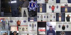 Relacionada agentes municipales en diferentes intervenciones detienen a 15 presuntos narcomenudistas