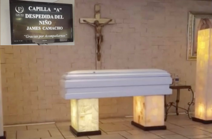 Faltan mil do lares para el funeral de james camacho