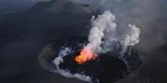 Relacionada volcan