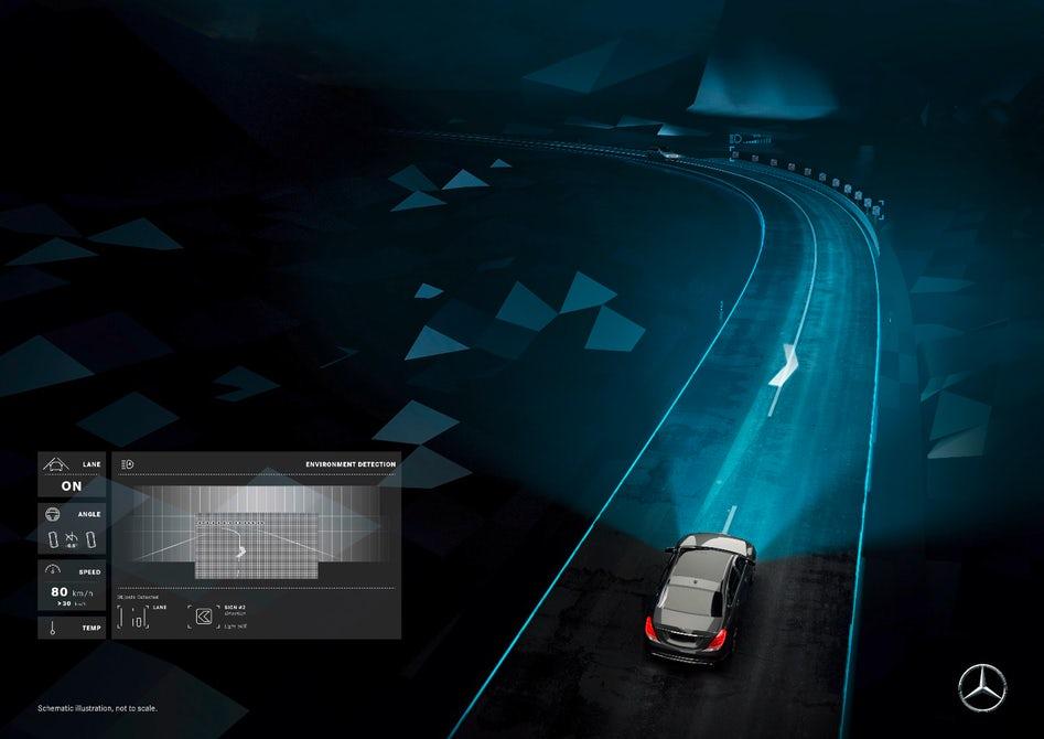 Mercedes maybach digital light smart headlights 4