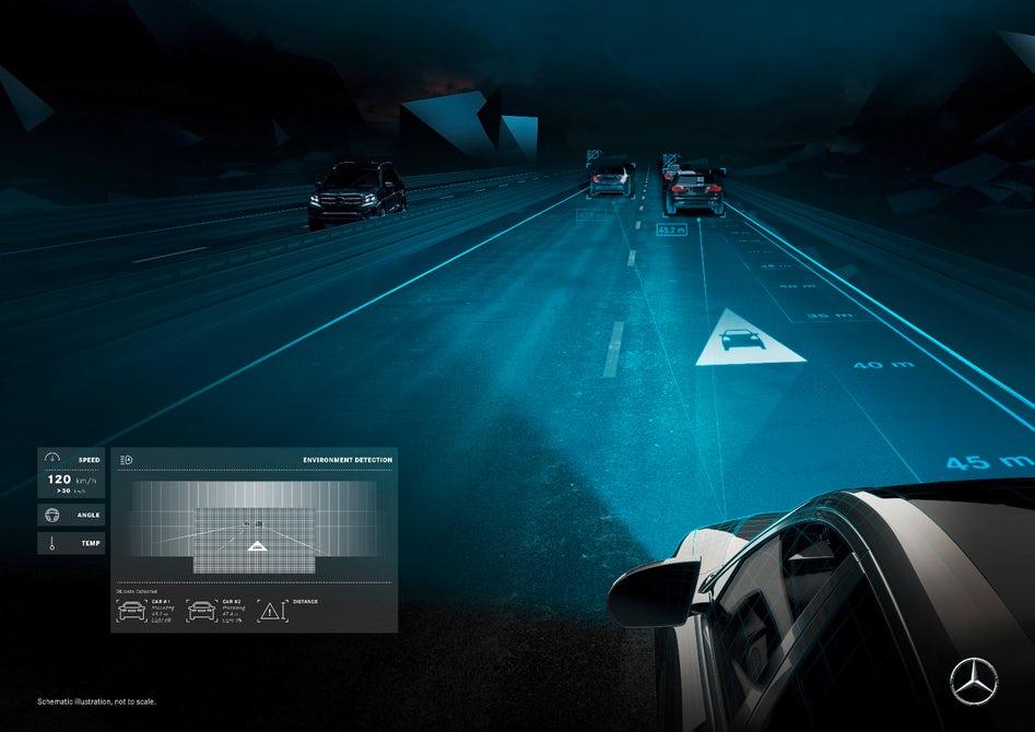Mercedes maybach digital light smart headlights 1