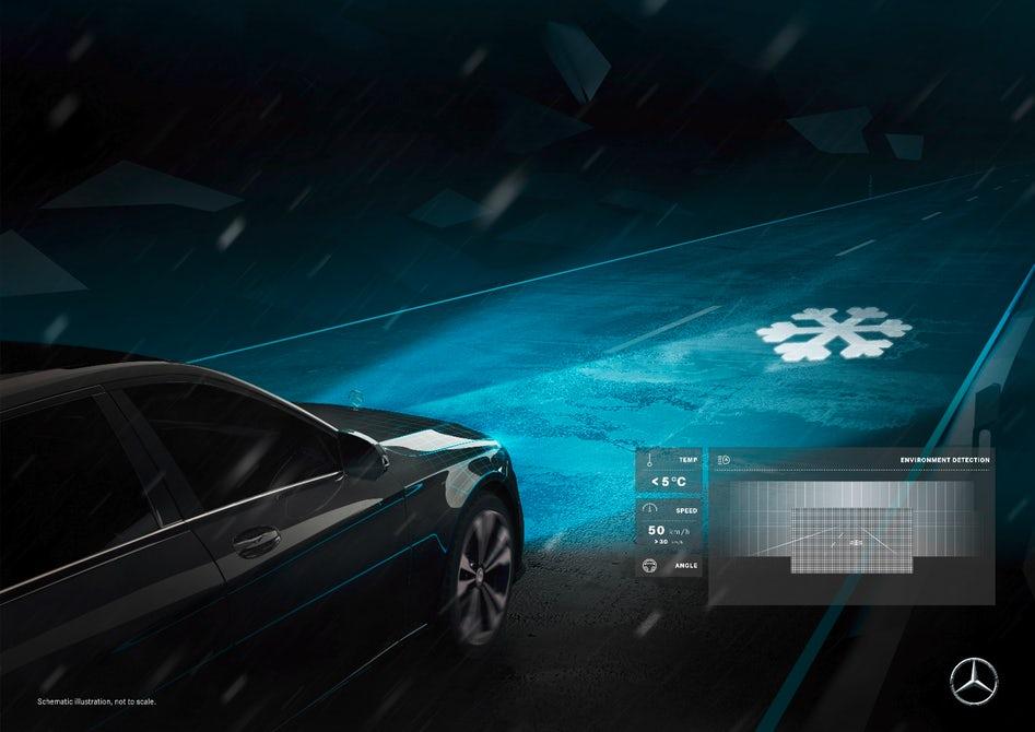 Mercedes maybach digital light smart headlights 3