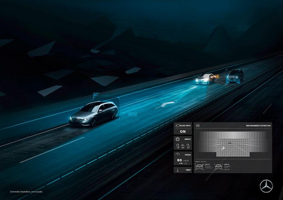 Mercedes maybach digital light smart headlights 6