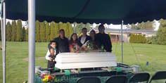 Relacionada funeral james