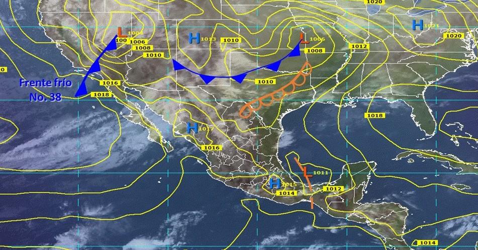 Lloviznas aisladas para hoy en Oaxaca y ambiente caluroso (08:45 h)