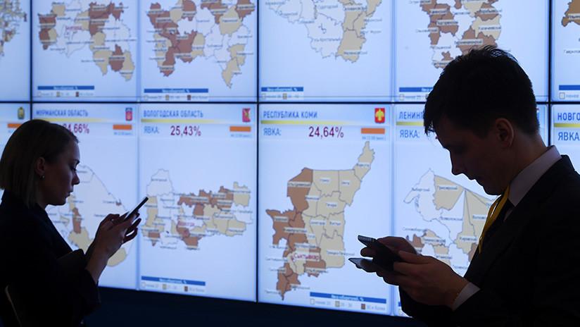 Millones asisten a las urnas para elegir presidente — Rusia