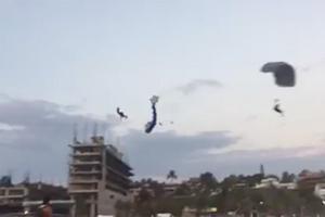 Slider choque paracaidas