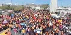 Relacionada maestros manifestacion juarez