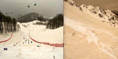 Relacionada nieve color arena sochi