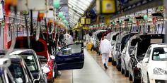 Relacionada industria automotriz