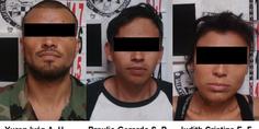 Relacionada detenidos por cateo