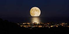 Relacionada luna llena en verano