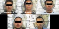 Relacionada detenidos por supuestos robos