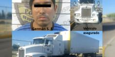 Relacionada detenido trailer