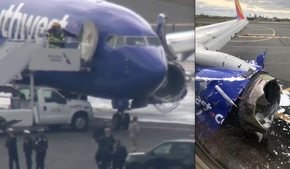 Mujer fue succionada por la ventanilla de avión