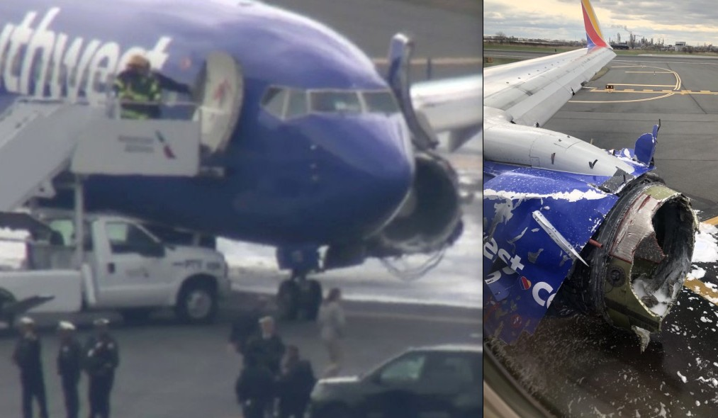 Avión aterriza de emergencia por falla en motor