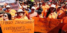 Relacionada maestros protesta