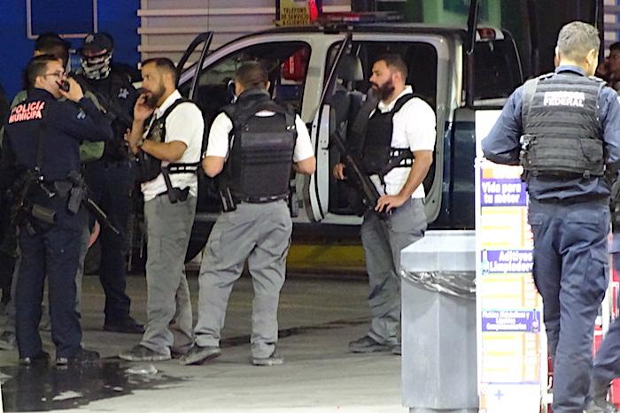 Policias movilizacion
