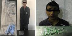 Relacionada detenidos con heroina