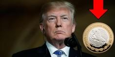 Relacionada peso mexicano se desploma donald trump