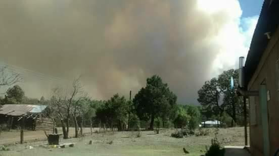 Incendio madera chihuahua