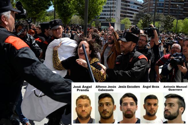 Continúan protestas contra sentencia de