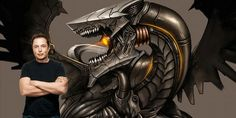Relacionada elon musk cyborg dragon