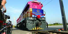 Relacionada chengdu vienna cargo train