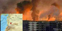Relacionada sismo siria bombardeo