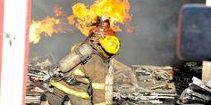 Relacionada bomberos incendios