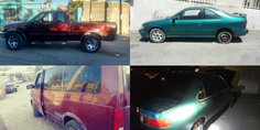 Relacionada recuperaron estos autos  contaban con reporte de robo