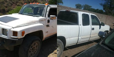 Relacionada camionetas robadas