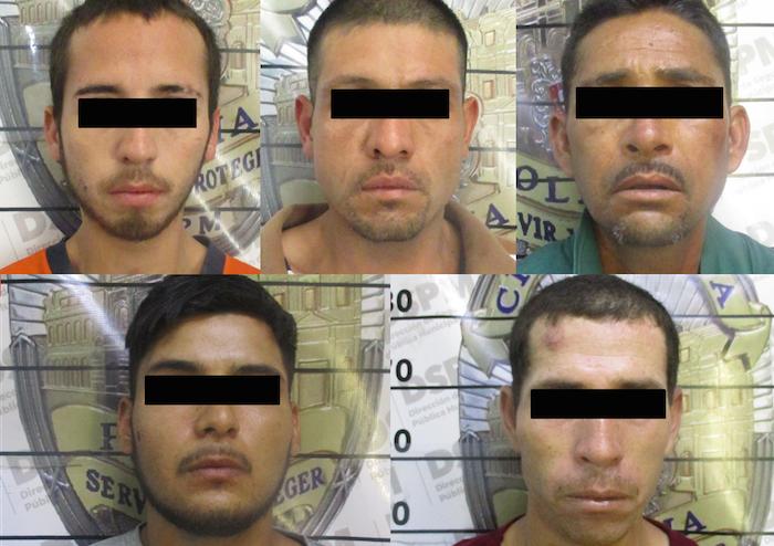 5 detenidos