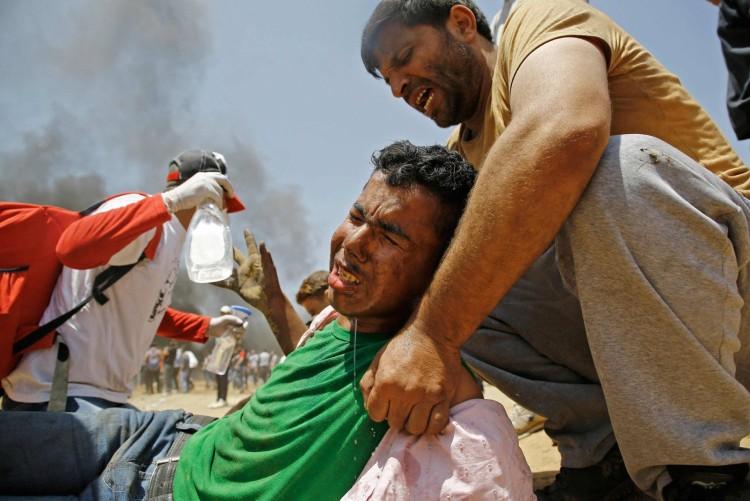 Enfrentamientos gaza masacre