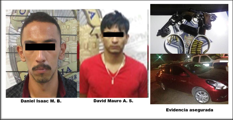Detenidos con dos armas de fuego