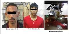 Relacionada detenidos con dos armas de fuego