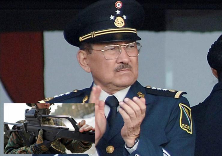 General incriminado compra armas