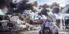 Relacionada incendio recicladora ciudad juarez