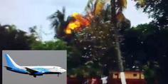 Relacionada avion cuba video momento