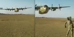 Relacionada avion c 130 sobrevuela cabeza temeni soldado