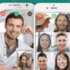 Thumb group video call on whatsapp
