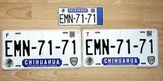 Relacionada placas chihuchua