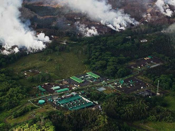Lava de volc n kilauea a punto de llegar a planta for Temperatura lava