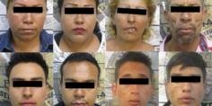 Relacionada 8 detenidos