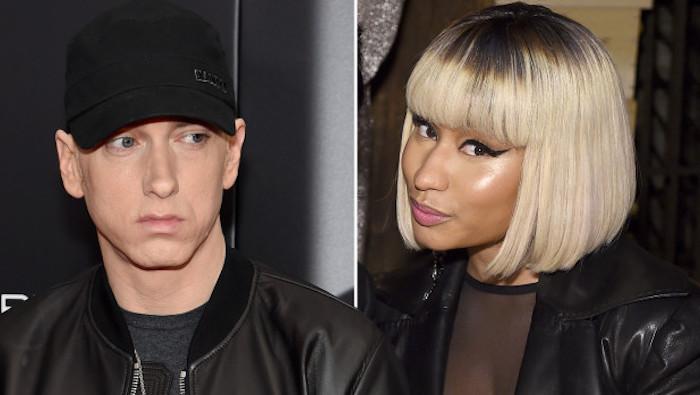 ¿Nicki Minaj de novia con Eminem?