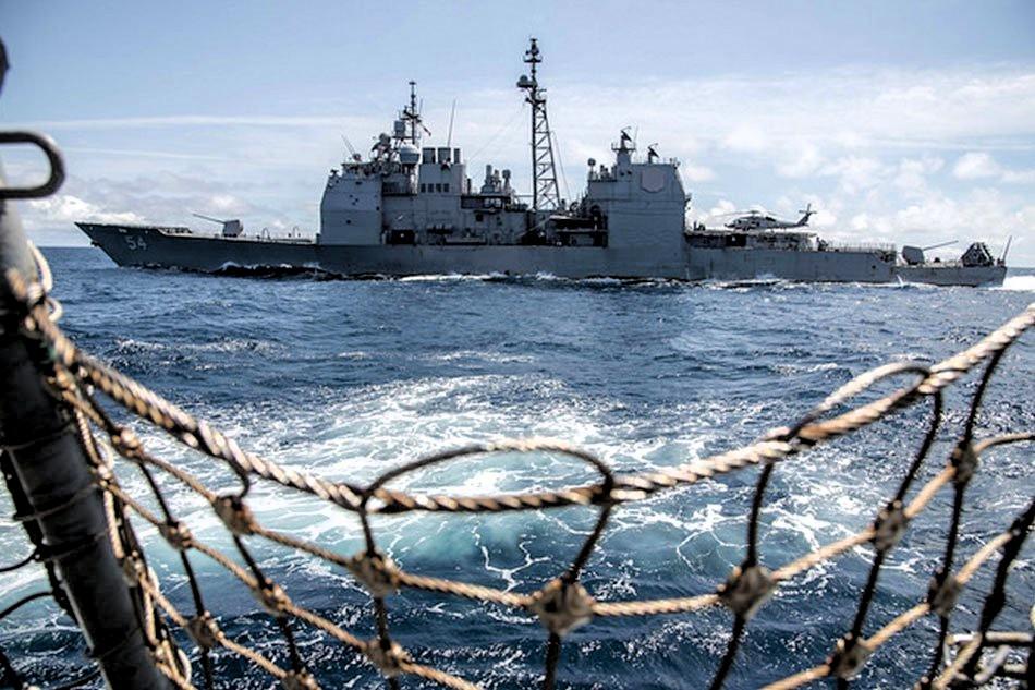 Pekín objeta buques EU en mares chinos