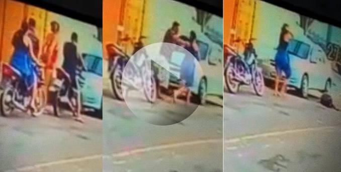 Fuertes imágenes: Sorprendió a su esposo infiel ¡y lo asesinó!